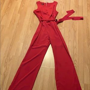 Red BeBe Jumpsuit size Small